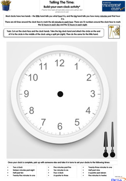 KS1 Key Skills: Telling the Time