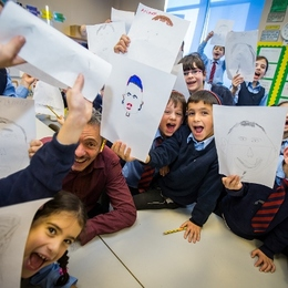 World Kids Colouring Day 2014: Classroom Workshops with Picasso